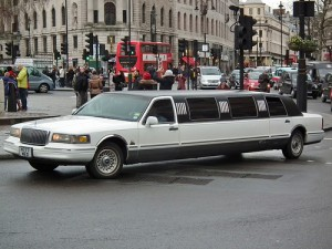 Who will take the bus with you when the limo breaks down?